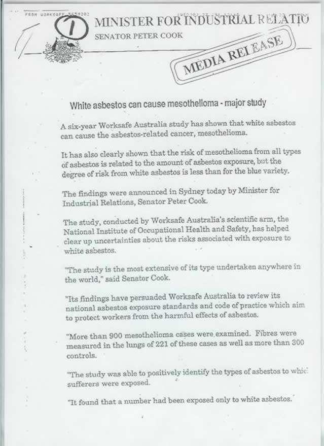 Asbestos Caused Diseases – Asbestos Diseases Society of